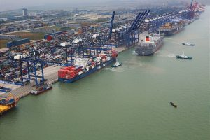 Guangzhou APMT container terminal