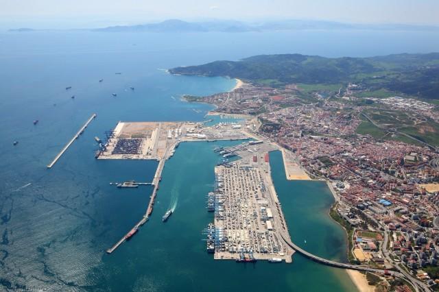 Algeciras Port Today