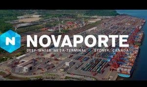 Novaporte new container terminal in Canada