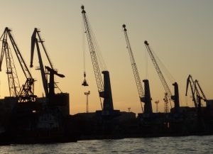 Russian port handling charges