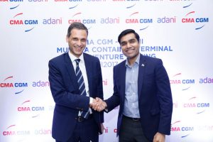 CMA CGM signs JV with Adani Group
