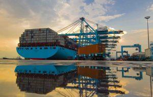 Emma Maersk vessel at APMT Algeciras