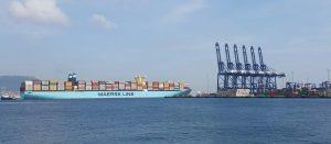 Mathilde Maersk in Algeciras
