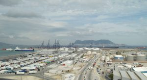 Algeciras Port general view