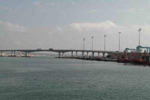 Bridge to the Algeciras port