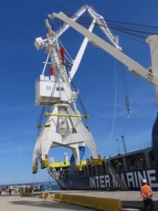 used port cranes