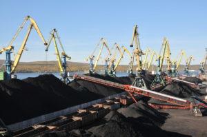 Lavna coal terminal
