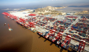 Yangshan automated container port