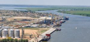Caspian ports