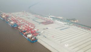 Yangshan automated port