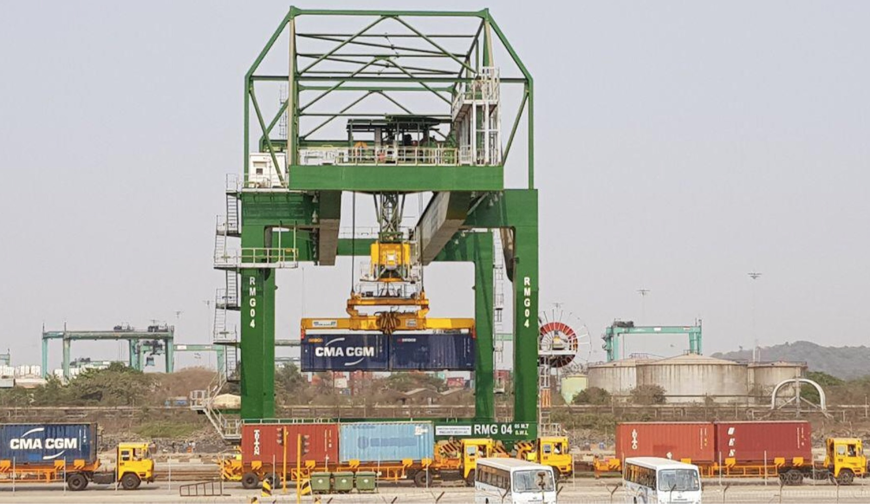 BMCT enhances Nhava Sheva connectivity with barge and train