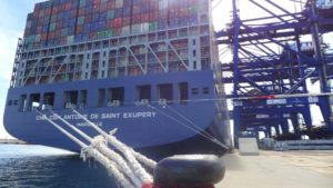 Algeciras container port