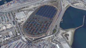 Los Angeles container storage hub