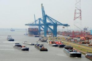 Antwerp barge congestion