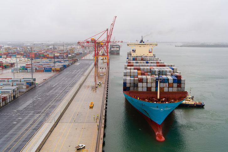 Brisbane launches a logistics blockchain solution – port today