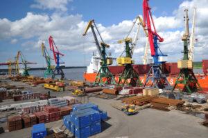 Arkhangelsk port