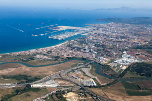 Algeciras logistics zone