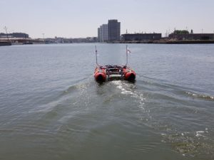 automatic sounding boat