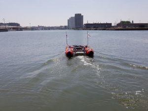 automatic sounding boat