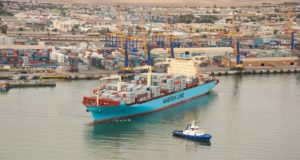 Walvis Bay's new container terminal