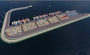 new container terminal Venice