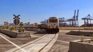 Algeciras freight trains